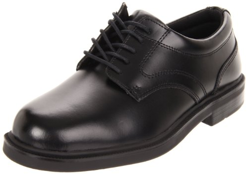 Deer Stags Men's Times Plain Toe Oxford,Black,9.5 M