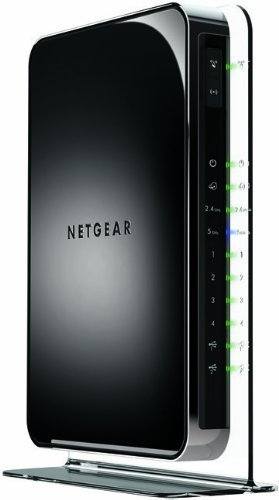 NETGEAR WNDR4500 N900 Wireless Router Dual-Band Gigabit (Certified Refurbished) (Netgear Router N 900 compare prices)
