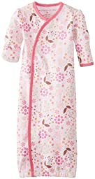 Magnificent Baby Baby-Girls Newborn Gown, Mod Floral, New Born