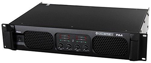 McGrey-PA4-1200-DJ-PA-Verstrker-Endstufe-4x-1200-Watt-Brckbar-XLR-Line-Eingnge-Speakon-kompatible-Leistungs-Ausgnge-Frequenzgang-20-20000Hz-schwarz