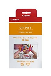 CANON RP-108 High-Capacity Color Ink/Paper Set Ink by Canon