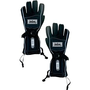 Techniche IonGear Battery Powered Heated Gloves Black Large/Extra Large L/XL