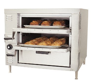 Bakers Pride Hearthbake Gp-51 Single Counter Top Pizza And Baking Gas Oven, 32 5/8 X 31 1/2 X 29 1/8 Inch -- 1 Each.