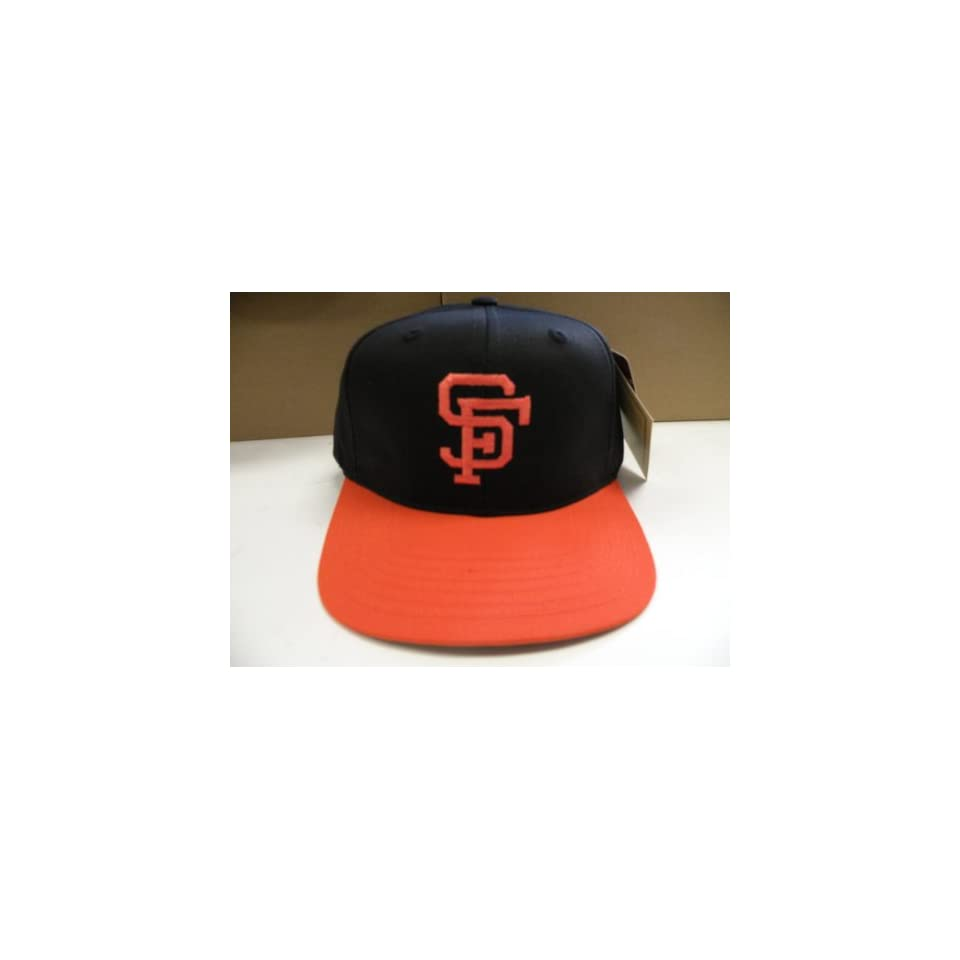 MLB San Francisco Giants Retro 2 Tone Snapback Cap Old School