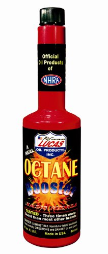 Lucas Oil 10026-PK12 Octane Booster - 15 oz
