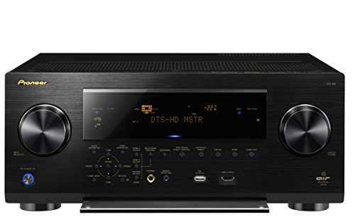 Pioneer Elite Sc-89 7.2-Channel Class D3 Network A/V Receiver With Hdmi 2.0