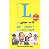 """Langenscheidt Chef-Deutsch/Deutsch-Chef: Klartext am Arbeitsplatz (Langenscheidt ...-Deutsch)von """"Bernd Stromberg"""""""