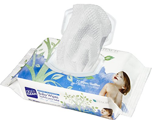 Nice 'n Clean Unscented Baby Wipes, 72 Count