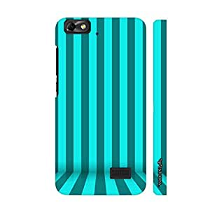 Huawei Honor 4C STRIPE FLOW designer mobile hard shell case by Enthopia
