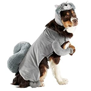 Disguise Dog Squirrel Costume, L, 18-Inches to 22-Inches