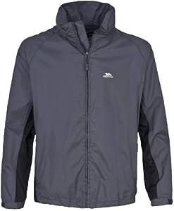 Trespass Insky Men's Waterproof Jacket - Size: XS, Color: Lead