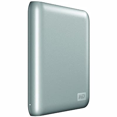 WD My Passport Essential SE 1 TB USB 3.0 Portable External Hard Drive Black Silver 750 GB