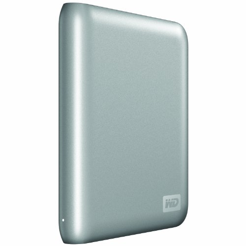 Western Digital My Passport SE for Mac 1 TB USB 2.0 Portable External Hard Drive (Silver)