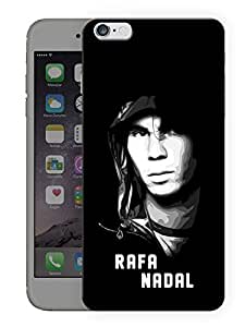 "Humor Gang Tennis God Printed Designer Mobile Back Cover For ""Apple Iphone 7"" (3D, Matte, Premium Quality Snap On Case)"