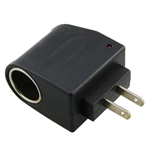 Eforcity Universal Ac To Dc Car Cigarette Lighter Socket Adapter [Us Plug]
