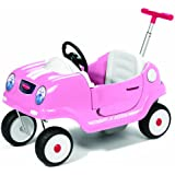 Radio Flyer Pink Steer and Stroll Coupe Ride On