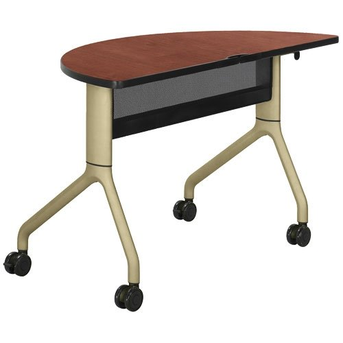 RumbaTM Training Table Top Finish: Cherry, Base Finish: Tan new top grade gift pure tan wooden type h chun tan mu shu h kuan