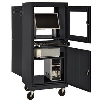 Amazon Com Sandusky Jg2663 09 Blk Black Steel Mobile