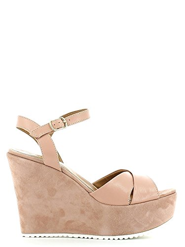 Grace shoes 15040 Sandalo zeppa Donna Rosa 40