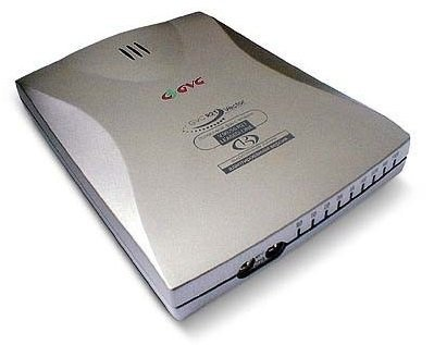 GVC SF-1156V/RF4 External Dial Up modem COM Made in TAIWAN (Dial Up Modem Router compare prices)