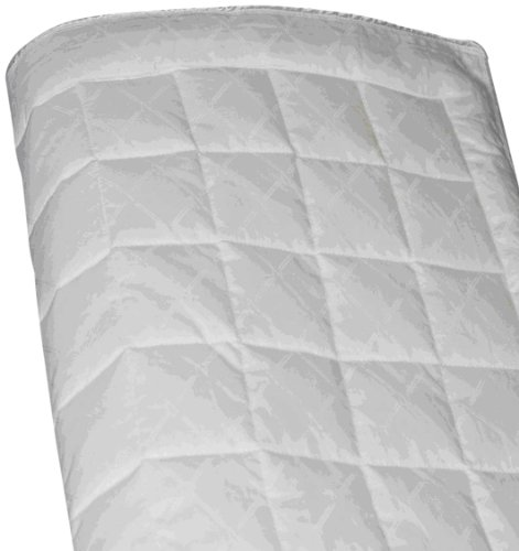 Exclusive A Veiled Design With White Sewn-Through Box-Quilted Style 300Tc Blanket, Queen front-923782