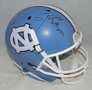 Lawrence Taylor Signed Autographed Unc North Carolina Tar Heels F s Helmet - JSA...