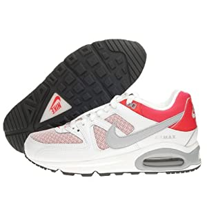 AIR max Command Nike Femmes Mod. 397690-126 Col White/wolg Grey-crimson Mis. 36 1/2