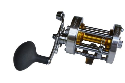 Ming Yang Baitcasting Fishing Reel CL70-A, Silver