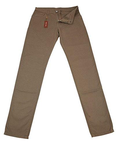 loro-piana-beige-solid-pants-slim-38-54