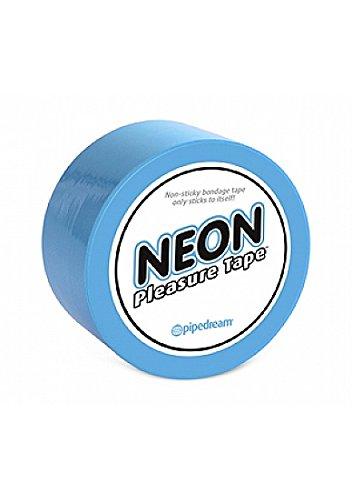 Pipedream – Neon – Bondage Tape Blue