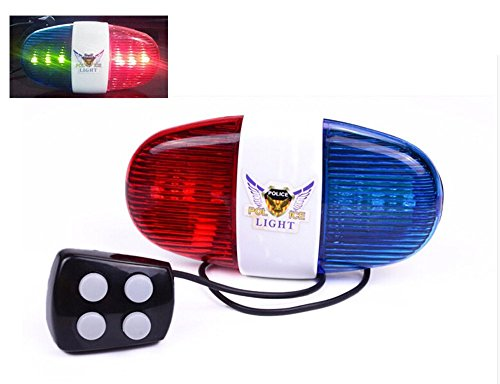 Wolfride-Cycling-Bike-Electric-Horn-4-Sounds-Bicycle-Police-Siren-Bell-6-LED-Lights
