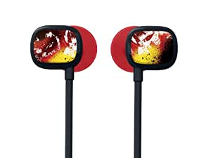 Ultimate Ears 100 Noise-Isolating Earphones - Crimson Rock Red/Yellow (Discontinued by Manufacturer)