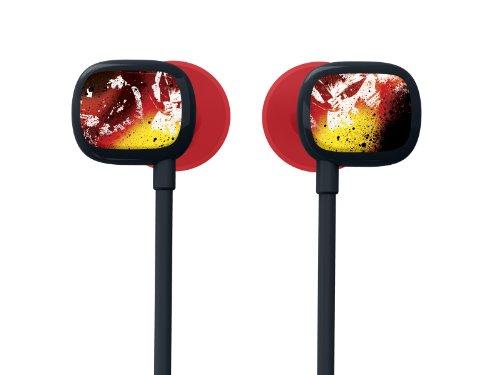 Ultimate Ears 100 Noise-Isolating Earphones - Crimson Rock Red/Yellow