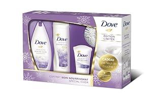Dove Coffret Winter Care :  Gel Douche + Lait Corps + Crème Main