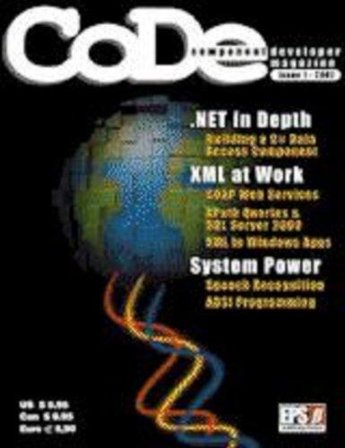CODE Magazine - 2001 - Issue 1