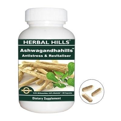 Ashwagandhahills - 100% Ayurvedic Ashwagandha Pills No Side Effects - Strengthen the Immune System and Kept the Mind Stress Free!