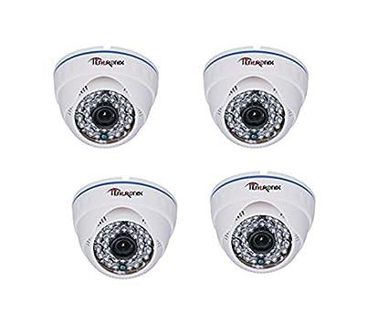 Tentronix-SY-4D-IR13AHD-1.3MP-AHD-Dome-CCTV-Camera-(4-Pcs)