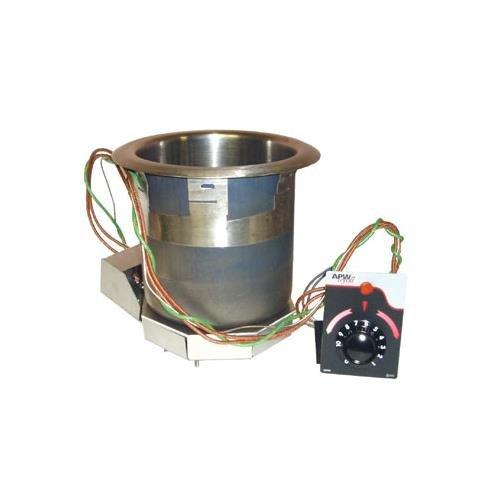 Apw Wyott Sm-50-4D Ul - 4 Qt Drop In Food Warmer, Drain, Wet Or Dry, Stainless, 120 V, Ul