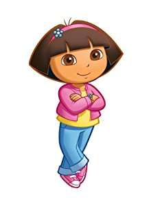 Roommates Rmk1400gm Dora The Explorer Peel Stick Giant Wall Decal from RoomMates