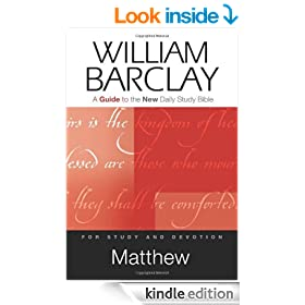 Matthew: A Guide to the New Daily Study Bible (Guides to the New Daily Study Bible)