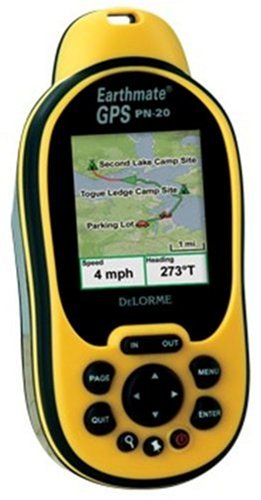DeLorme Earthmate PN-20 Waterproof Hiking GPS
