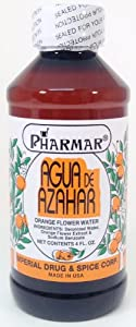 Agua De Azahar 4 Oz. Orange Flower-Blossom Water