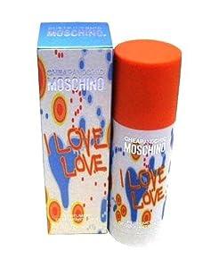 MOSCHINO I Love Love Deodorant Stick for Women, 1.7 Ounce