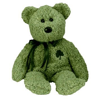 Ty Beanie Babies - Shamrock the St Patricks Day Bear - 1