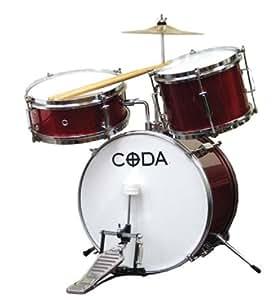 Amazon.com: CODA DS-010-R 3-Piece Drum Set: Musical Instruments