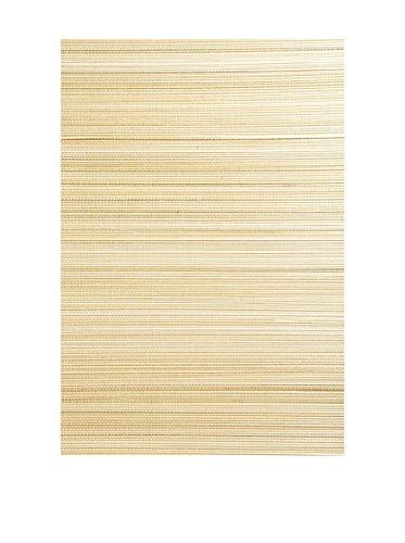 Brewster Li Mei Grasscloth Peelable Wallpaper, Beige