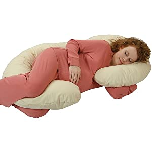Amazon Com Leachco Organic Smart Snoogle Body Pillow