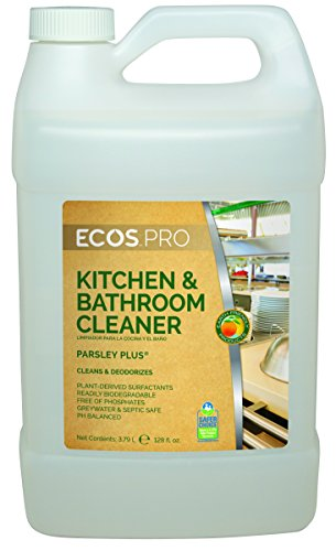 Earth Friendly Products Proline Pl9746 04 Parsley Plus All Purpose Kitchen Bathroom Cleaner