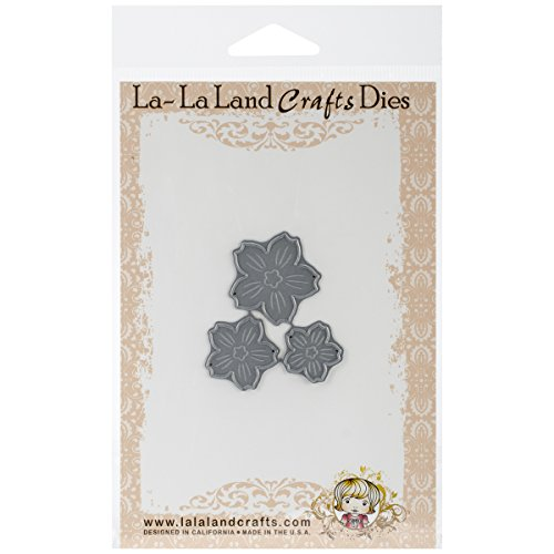 La-La Land Crafts Die, Cherry Blossom Flowers, 2 by 1.75-Inch - 1