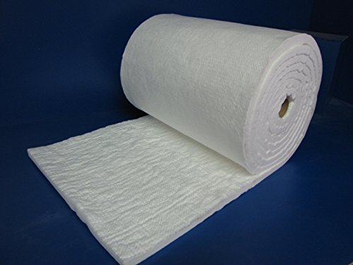 Ceramic fiber insulation blanket 3 4 x 24 x 29 feet for Glass fiber blanket insulation